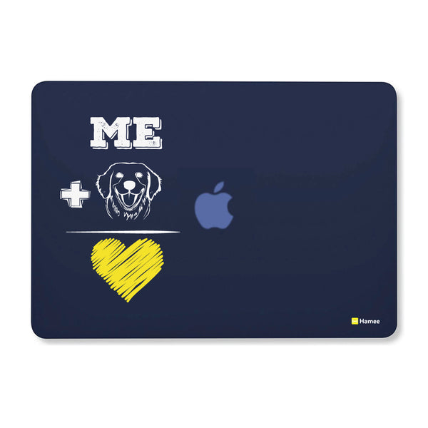 "Dog Love - Navy Blue MacBook Air 13"" Cover-Hamee India"