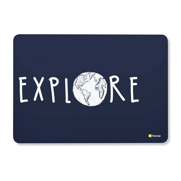 "Explore - Navy Blue MacBook Air 13"" Cover-Hamee India"