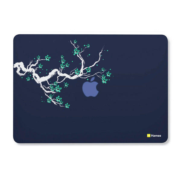 "Branch - Navy Blue MacBook Air 13"" Cover-Hamee India"