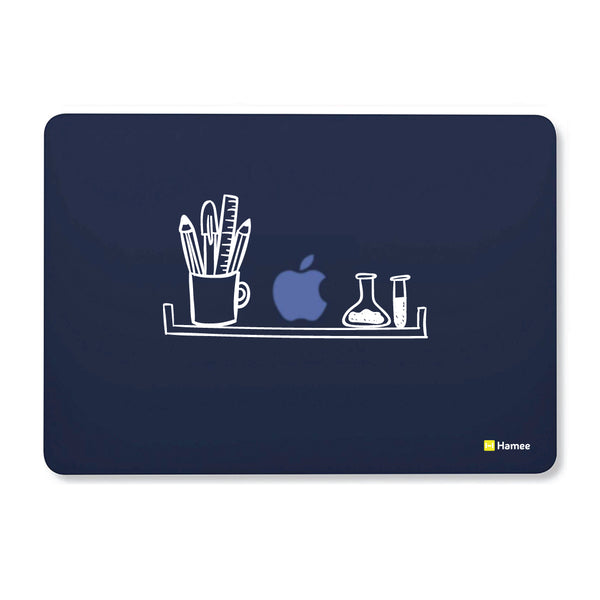 "Shelf - Navy Blue - Matte Finish Shell Case for Apple Macbook Air 13""-Hamee India"