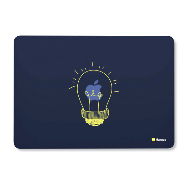 "Bulb - Navy Blue - Matte Finish Shell Case for Apple Macbook Air 13""-Hamee India"