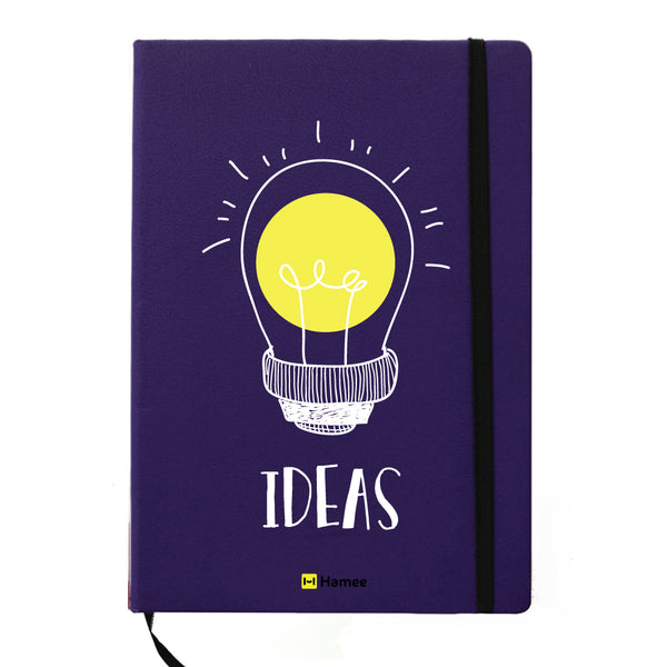 Ideas - Blue Notebook-Hamee India
