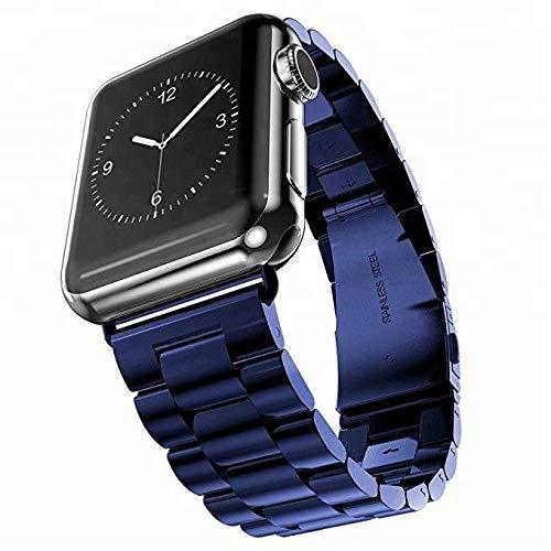 Blue Stainless Steel Band Strap - Apple Watch Series 5/4/3 (44mm/42mm)