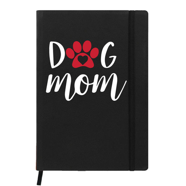 Hamee- Mother's Day Special Black Leather Planner / Organizer- Dog Mom