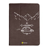 "Adventure - iPad 9.7"" Folio Case Stand (Brown)"