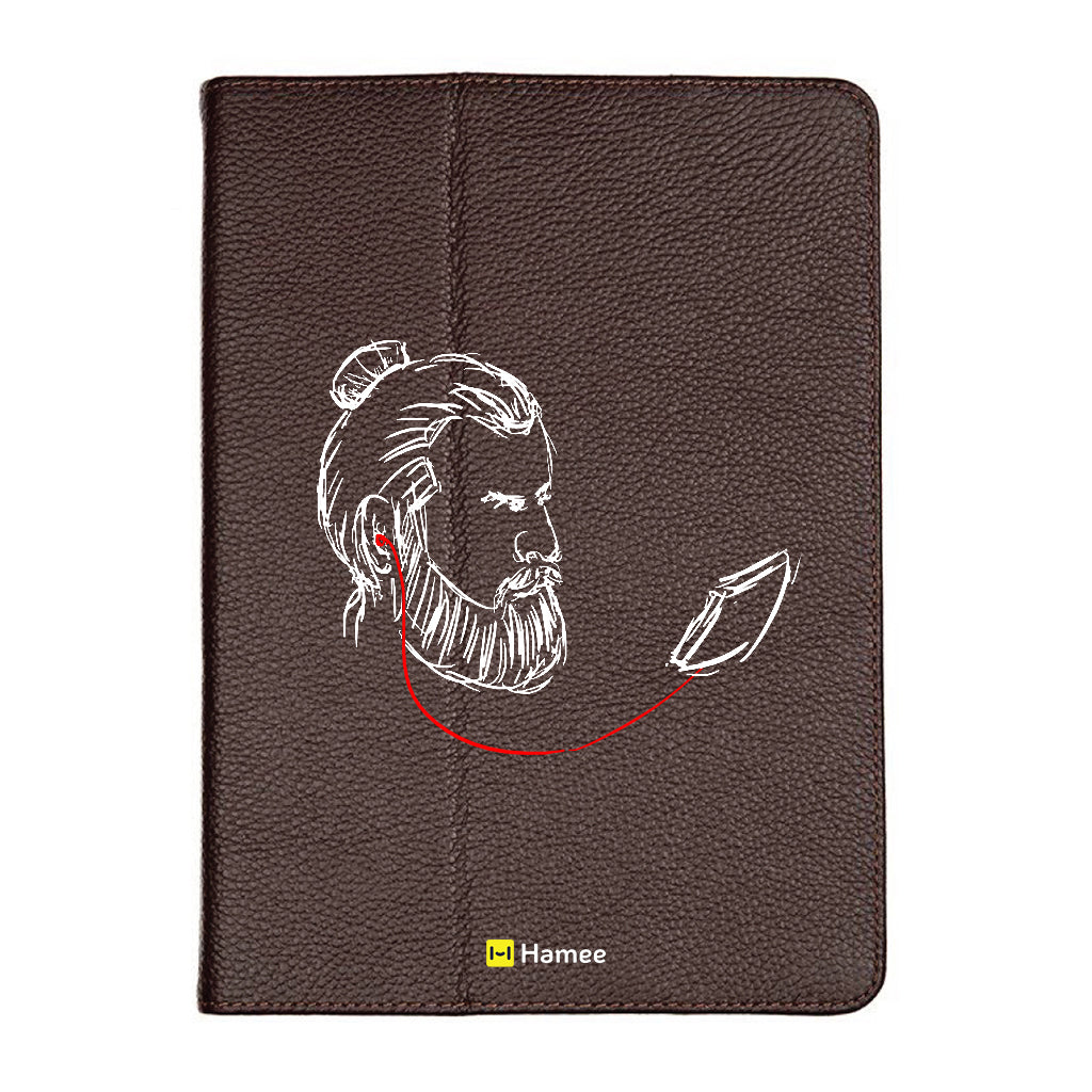 "Sound - iPad 9.7"" Folio Case Stand (Brown)"