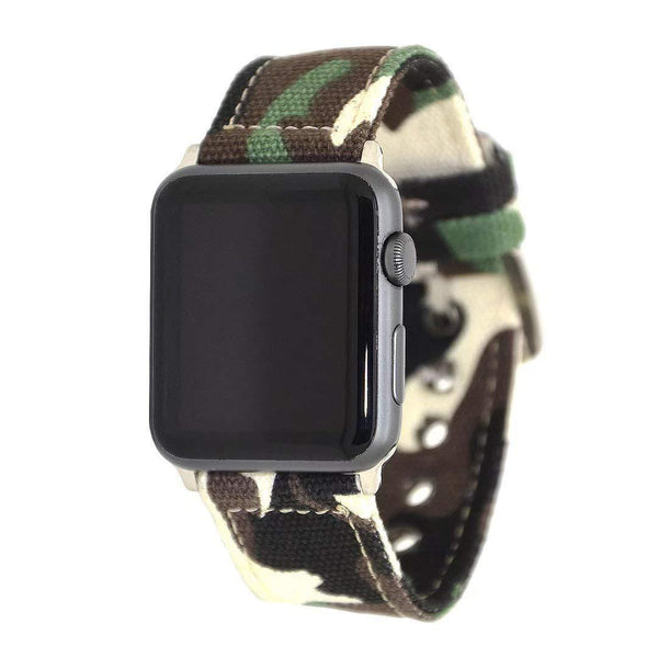 Canvas Camouflage Band Strap - Apple Watch Series 5/4/3 (44mm/42mm)