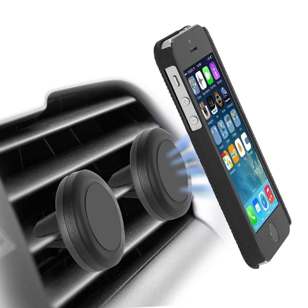 Magnetic Air Vent Car Mount For Mobile Devices / Smartphones-Hamee India