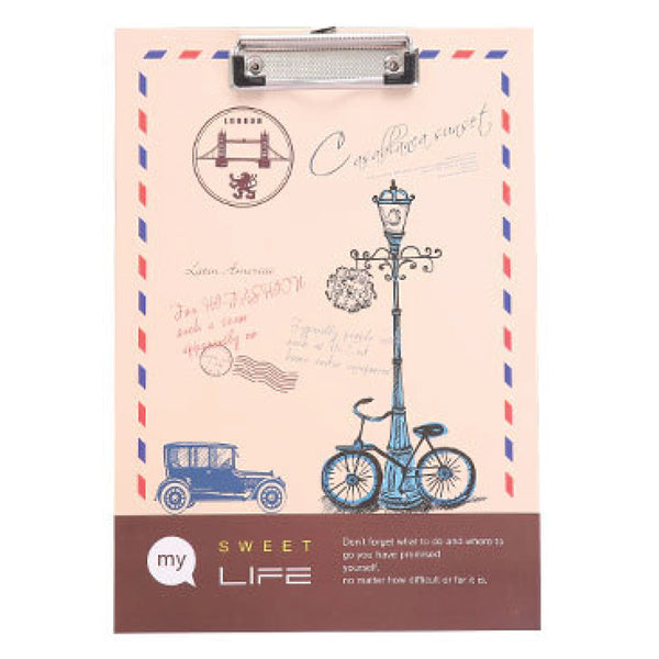 Europe Clipboard Writing Pad-Hamee India