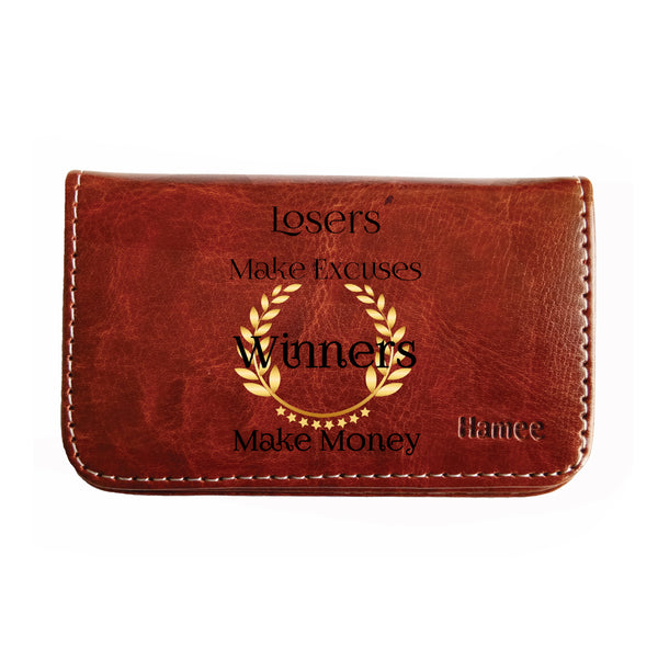 Winners Make Money Business / Visiting Card Holder-Hamee India