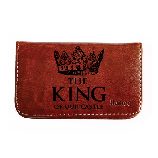 King of Our Castle Business / Visiting Card Holder-Hamee India