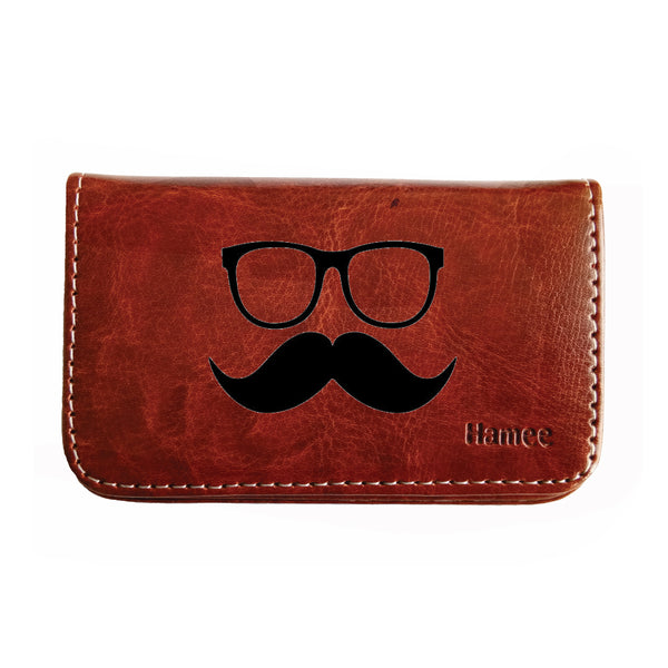 Mustache Business / Visiting Card Holder-Hamee India