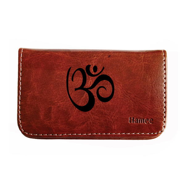 Black OM Business / Visiting Card Holder-Hamee India