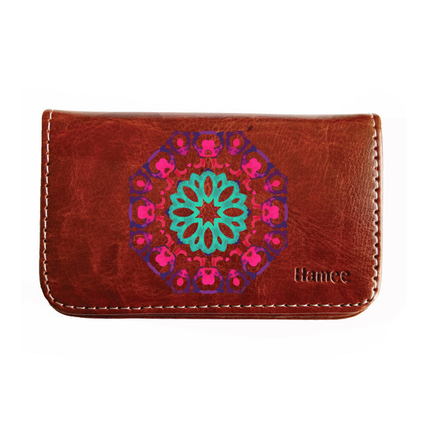 Colorful Pattern Business / Visiting Card Holder-Hamee India