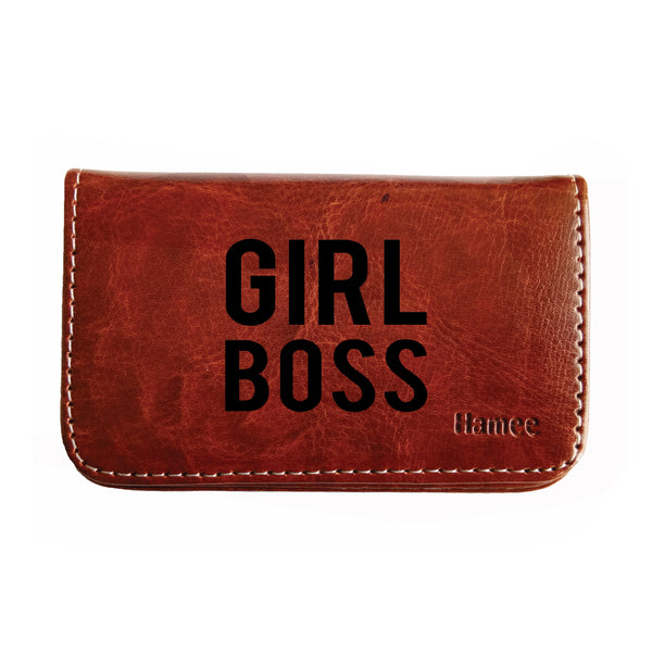 Girl Boss Business / Visiting Card Holder-Hamee India
