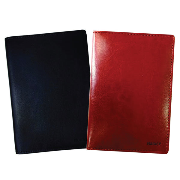 Plain PU Leather Passport Wallet / Holder (Set of 2)-Hamee India