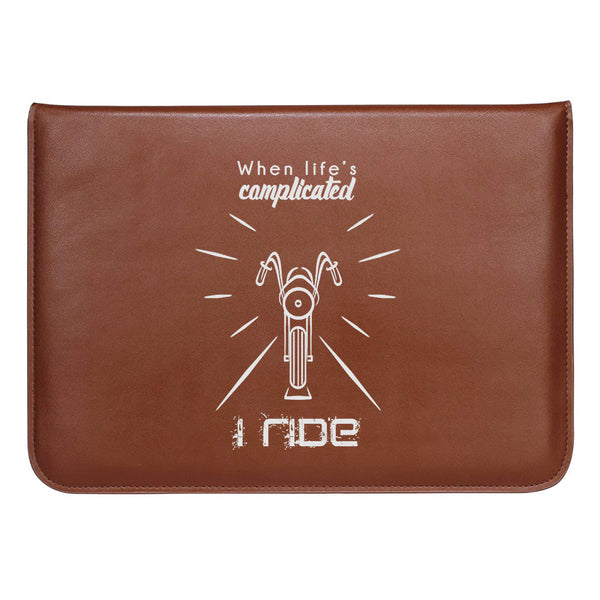 "I Ride MacBook Sleeve 13.3""-Hamee India"