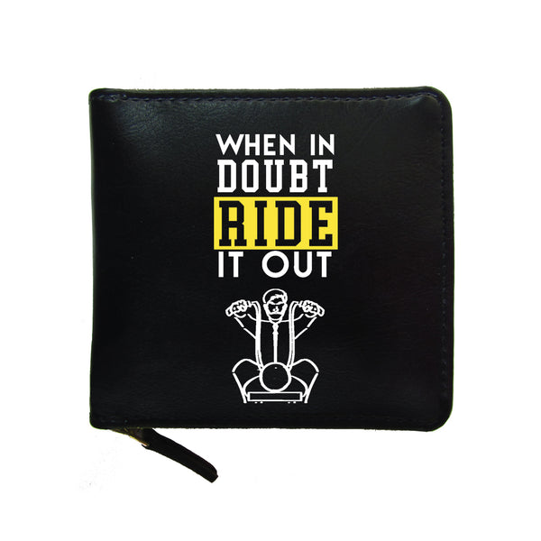 Ride It Out Unisex Zip Wallet-Hamee India