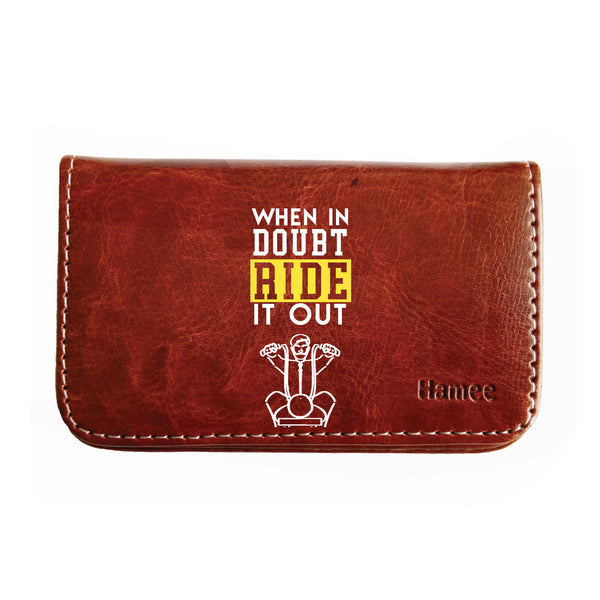 Ride It Out Business / Visiting Card Holder-Hamee India