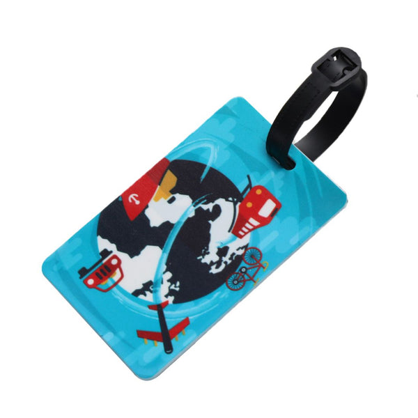 World Travel - Silicon Luggage Tag-Hamee India