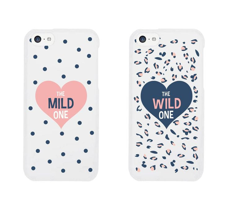 "Hamee Back Cover for iPhone 5 / 5S / SE / 5SE "" The Mild One and the Wild One Special Pack of Two Combo 17 "" - Hamee India"