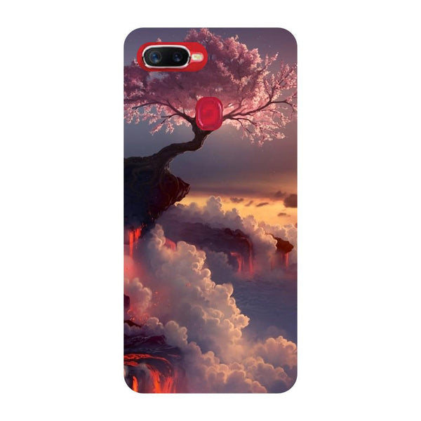 Blossom Oppo F9 Back Cover-Hamee India