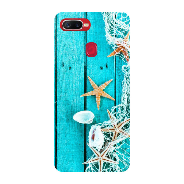 Sea Side Oppo F9 Pro Back Cover-Hamee India