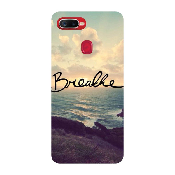 Breathe Oppo F9 Back Cover-Hamee India