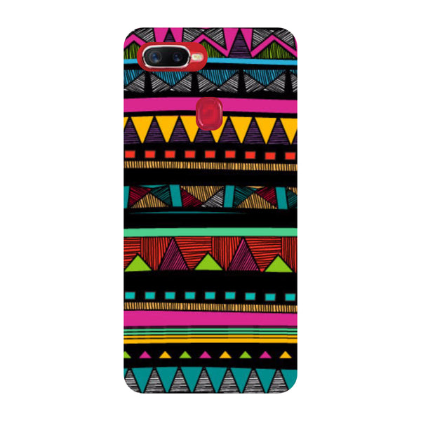 Tribal Oppo F9 Pro Back Cover-Hamee India