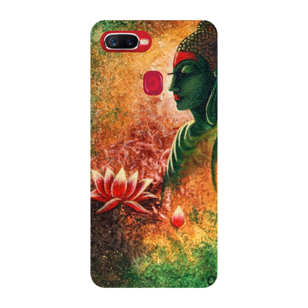 Side Buddha Oppo F9 Pro Back Cover-Hamee India