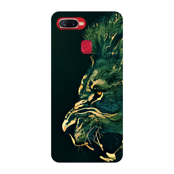 Dark Lion Oppo F9 Pro Back Cover-Hamee India