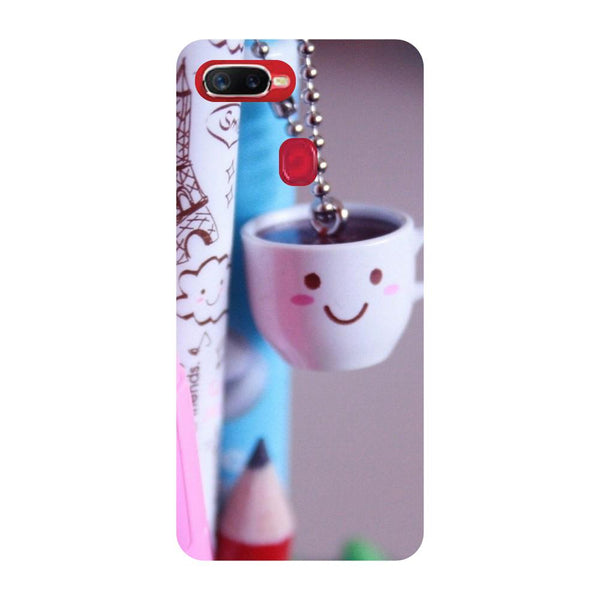 Cup Oppo F9 Back Cover-Hamee India