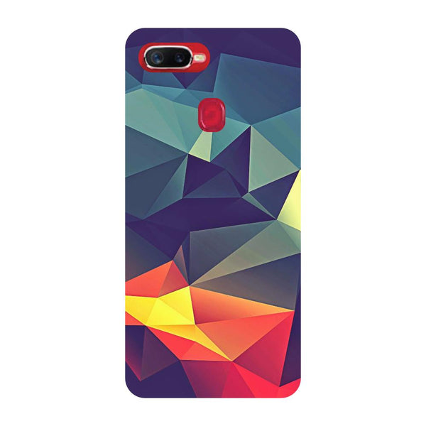 Abstract Oppo F9 Back Cover-Hamee India