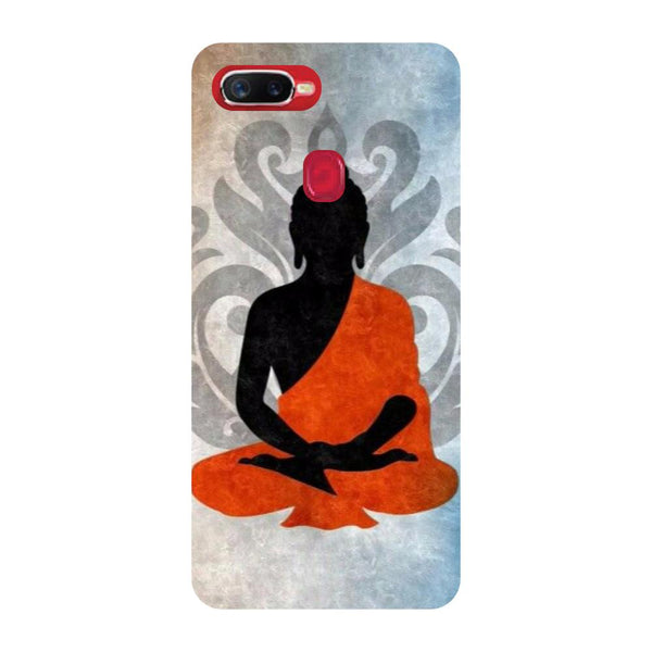 Buddha Relax Oppo F9 Back Cover-Hamee India