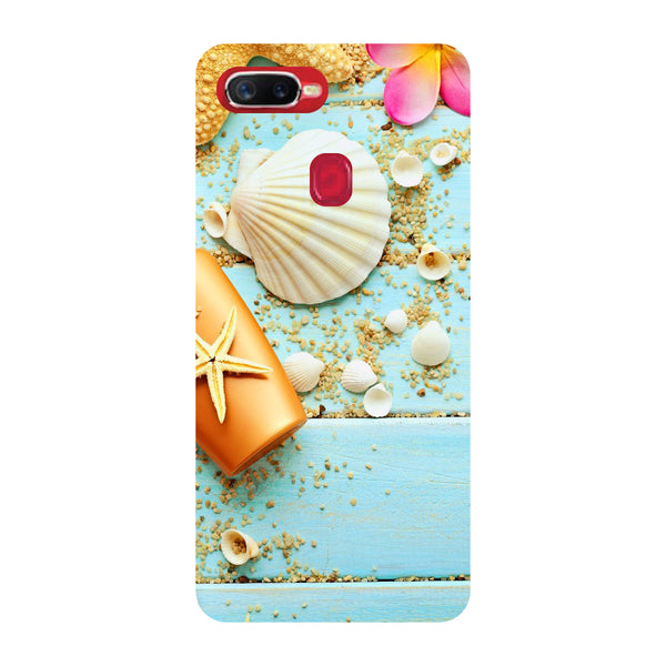 Shells Oppo F9 Pro Back Cover-Hamee India