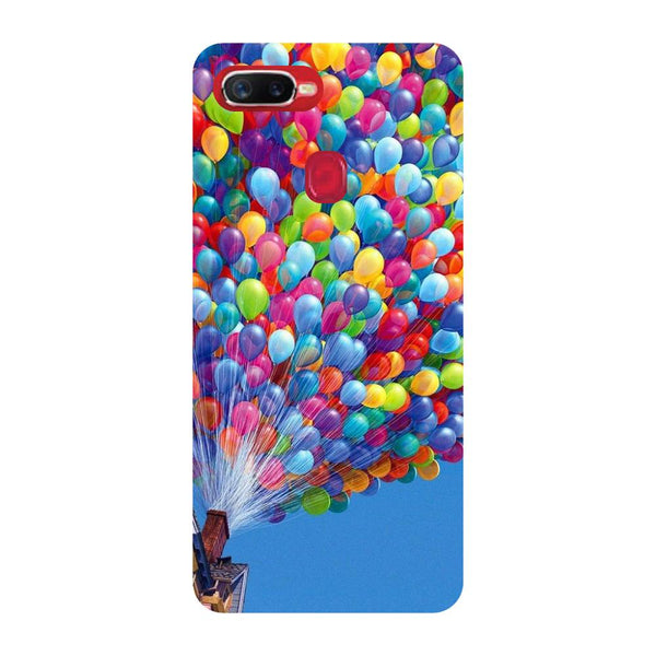 Balloons Oppo F9 Back Cover-Hamee India