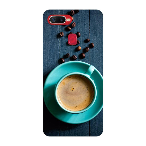 Cup of Tea Oppo F9 Back Cover-Hamee India