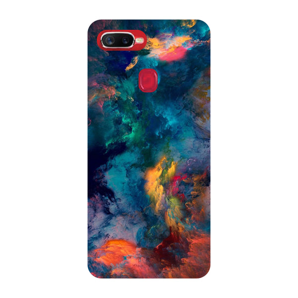 Abstract Fumes Oppo F9 Pro Back Cover-Hamee India