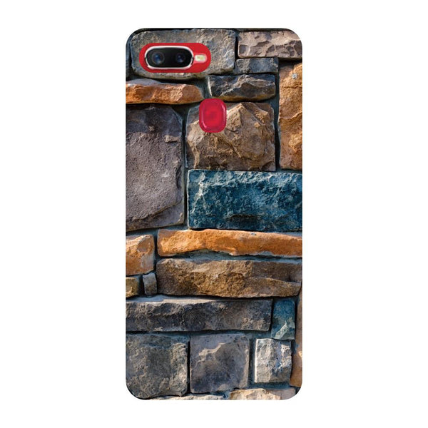 Bricks Oppo F9 Back Cover-Hamee India