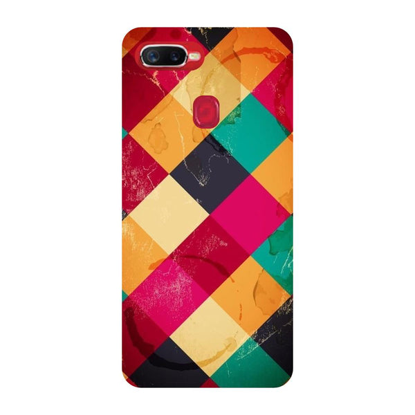 Weave Oppo F9 Back Cover-Hamee India