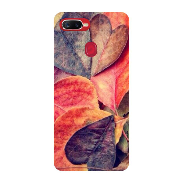 Autumn Leaves Oppo F9 Back Cover-Hamee India