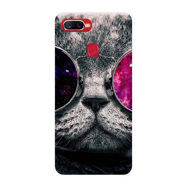 Cool Cat Oppo F9 Back Cover-Hamee India