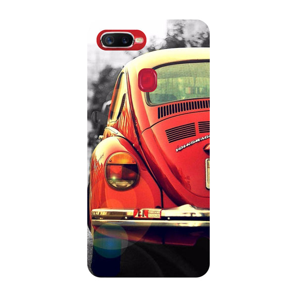 Vintage Car Oppo F9 Pro Back Cover-Hamee India