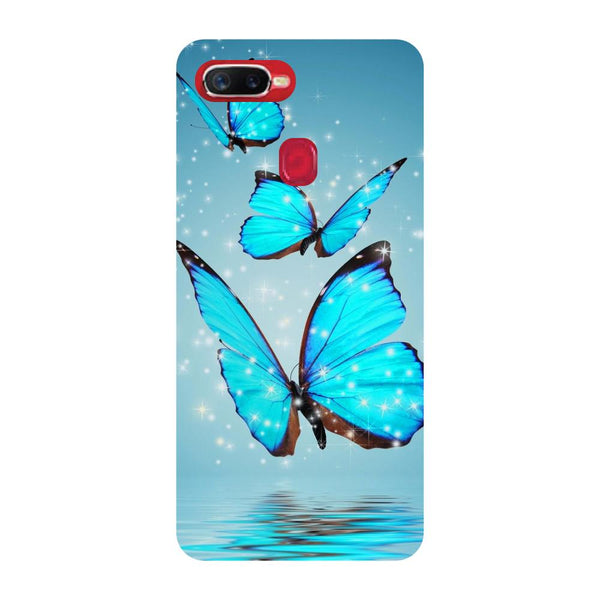 Butterflies Oppo F9 Back Cover-Hamee India