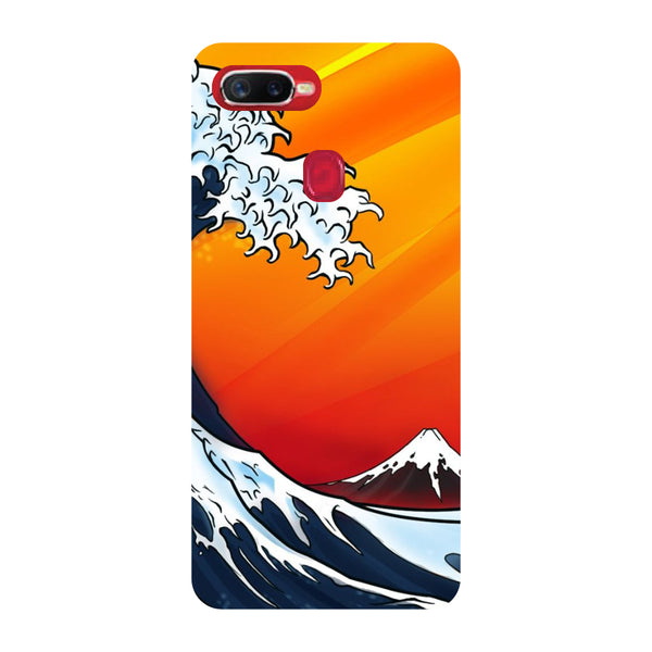 Wave Oppo F9 Pro Back Cover-Hamee India