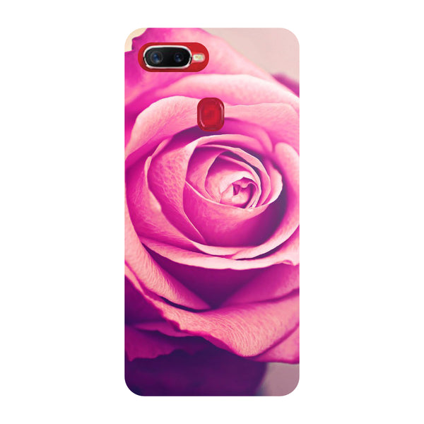 Pink Rose Oppo F9 Pro Back Cover-Hamee India