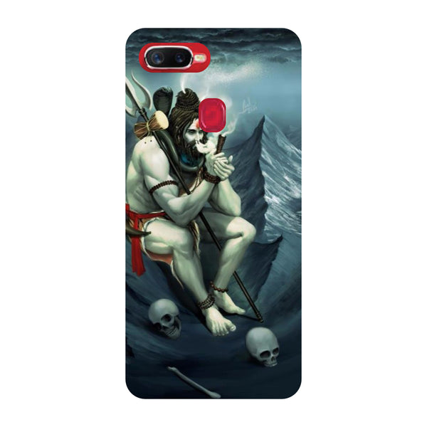 Shiva Abode Oppo F9 Pro Back Cover-Hamee India