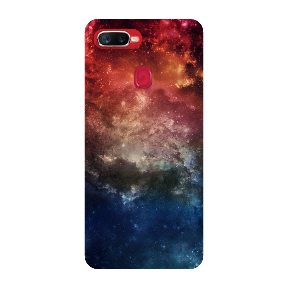 on sale a0c03 9fdca Outer Space Oppo F9 Pro Back Cover