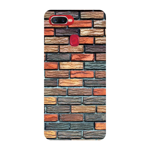 Brick Wall Oppo F9 Back Cover-Hamee India