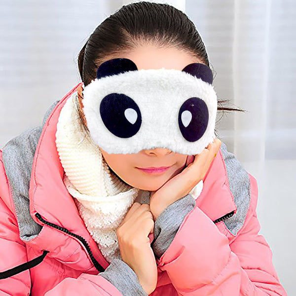 Plush Eye Mask - Happy-Hamee India